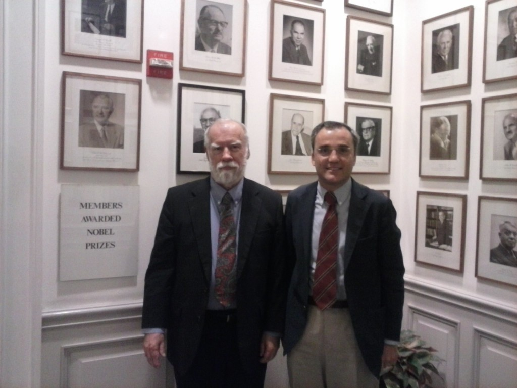 With Dick Cummins 2, at Cosmos Club