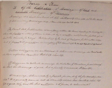 litchfield manuscript
