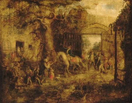 wall street gate