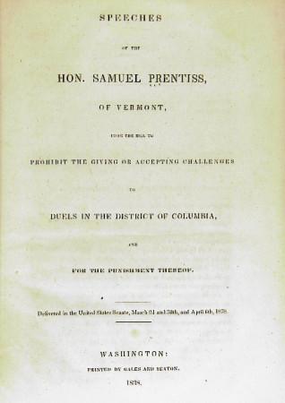 Duel DC 1838