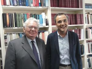 With Professor Thomas Buergenthal